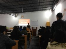 MIC Online Marketing Training Course in Heng Xing Office Furniture Factory.