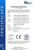 CE Certificate of Temperature Humidity Chamber