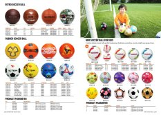 Retro Soccer Ball, Rubber Soccer Ball, Mini Soccer Ball