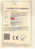 CE Certificate of convection oven