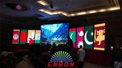 Nepal P5.68 P4.8 indoor LED video wall project