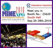 MINExpo INTERNATIONAL show, Sep.2016