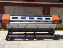 86.6inch(2200m) two dx5 dx7 heads roll to roll UV printer