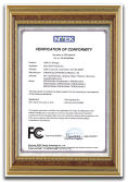 FCC certificate for USB HOME CHARGER