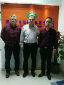 Customer visits our company on December ,2016