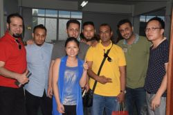 The customers from Saudi Arabia visited our factory