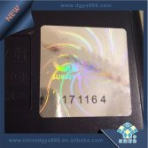 serial numbers hologram label