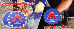 DIAMOND BLADE & TCT SAW BLADE