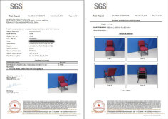 SGS test for church chairs