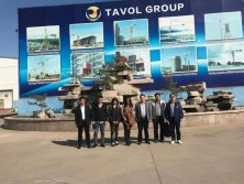 Our customers from Thailand visit the factory