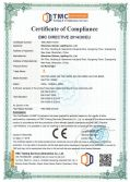 CE certificate of TGC series led flood light