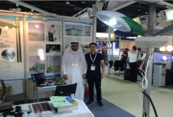 SunMaster Succeeded in middle east light fair