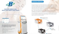 Medical CE approved diode laser system with OEM/ODM available