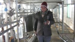 Visiting User Farmer and View Milking System Working.