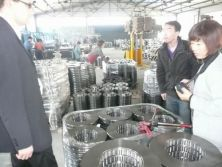 autoparts customers visited our factory