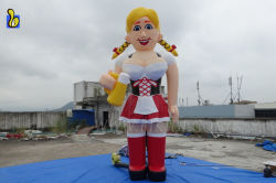 Inflatable Bar Girl Balloon, Holland Inflatable Character Cartoon K9046