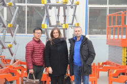 Italy Construstion Company Visit