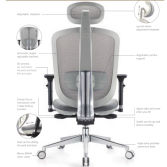 MS:2019 New Ergonomic Design Office Chair