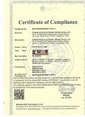 CE Certificate of Led Furniture