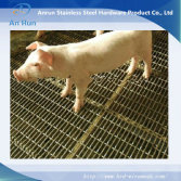 crimped wire mesh panel use for raising pig floor