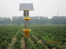 Solar energy conversion lithium power integrated LED insecticide light