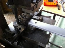 Beam Extrusion Lock Hole Punching