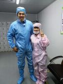 Swiss customer visit our factory