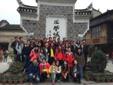 Group Travel in Fenghuang, HuNan
