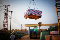 Trolley Shipped to India