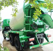 7CBM Concrete Mixer Truck exported to the North America