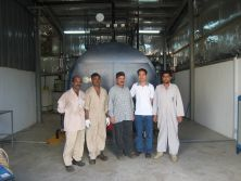overseas service in Saudi for 1*4ton