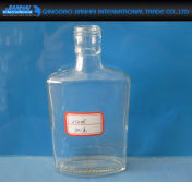 100/250/500ml Glass Liquor Wine Bottle