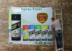 Captain spray paint