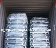 Package of wire mesh container
