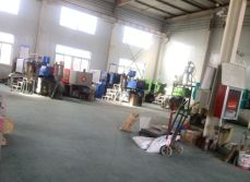 Plastic products production workshop