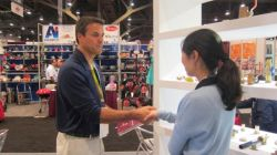 Successful negotiation with our buyer in 2014 Las Vegas international Hardware Show