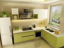 Hot Recomend New Design Modern Small Kitchen Unit