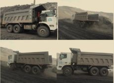 Working of SINOTRUK HOWO Mining Dump Truck
