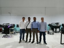 India customers bought UV Printer pay cash