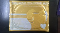 High Quality Anti-Wrinkle Collagen Facial Mask Gold Collagen Mask