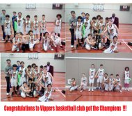 Vippers U12 Boys got the Champions