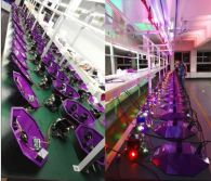 25pcs*3W UFO Stage Effect Light