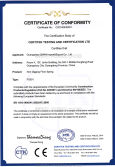 CE Certificate Fo Non Digging Floor Spring