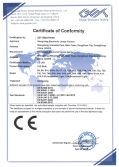 CE - LVD certificated for LED bulbs