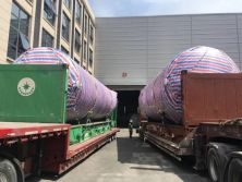 Triumph cryogenic storage tanks and vaporizers are exported to overseas