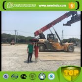 Singapore Client Check Used SANY Reach Stacker