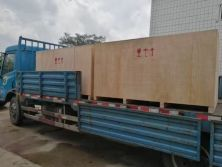 45 degree sliding table saw delivered to Mauritius
