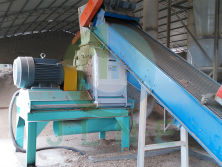 Wood Hammer Mill workshop(in wood pellet line)