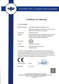 CE certificate of labeling machine
