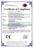 CE Certificate Compliance for UPS